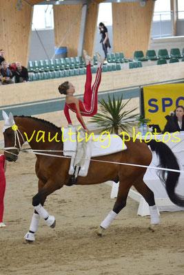 Ingelsberg Junior (GER); Pferd: Holt`s Romeo; Longe: Elisabeth Aichner