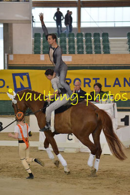 Team Salzmünde (GER); Pferd: Summersby; Longe: Franziska Mauff