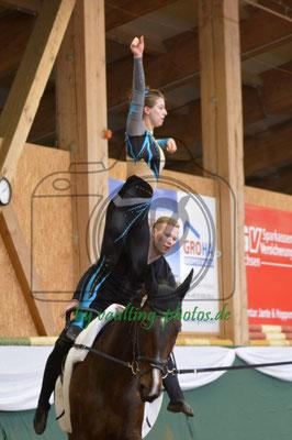 RVV Reibitz I; Pferd: Rubin Fiorello; Longe: Nicole Kappert