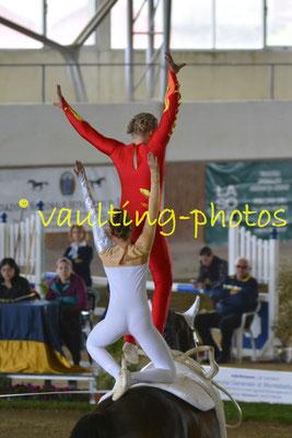 Anna Krippl/Viktoria Feldhofer (AUT); Pferd: Le Grand Chevalier; Longe: Eva Maria Kreiner