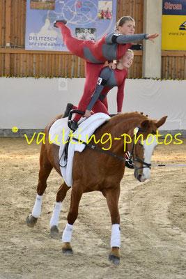 Liebertwolkwitz II; Pferd: Nina 164; Longe: Franziska Kugeler-Meyer