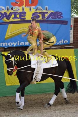 RV Kirchwerder Team INDIE (GER); Pferd: Highlander; Longe: Winnie Schlüter