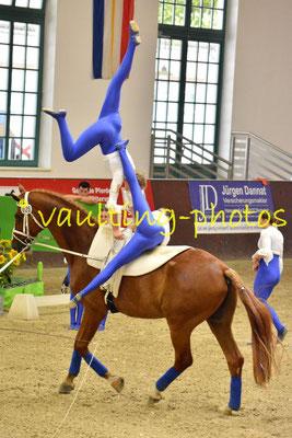 Franken-Junior I; LV: Bayern; Pferd: Robbie Naish; Longe: Annette Müller-Kaler
