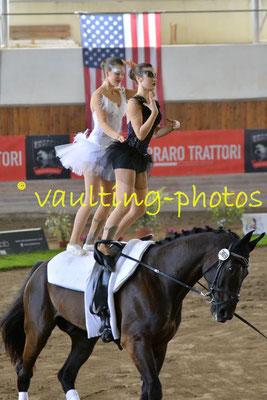 Federica Coppiello/Giorgia Gobbo (ITA); Pferd: Dorian; Longe: Claudia Petersohn