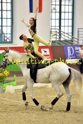 Gina Herrmann/Ina Rick; LV: Rheinland-Pfalz; Longe: Alexandra Dietrich; Pferd: Fabriano