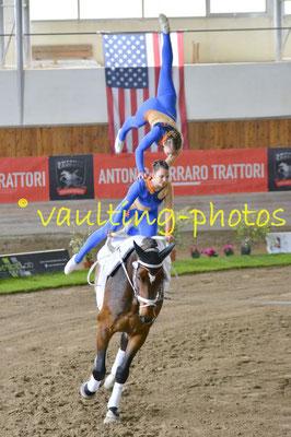 RVC Gilching I (GER); Pferd: Amontillado; Longe: Bettina Groß