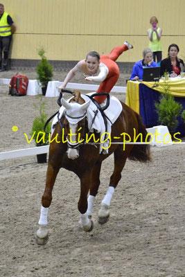 Team Cassiopeia (SWE); Pferd: Cato af Norremosegard; Longe: Marie-Louise Westerlund
