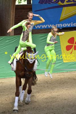 Juniorteam II Schenkenberg (GER); Pferd: Giovanni; Longe: Katja Wagner