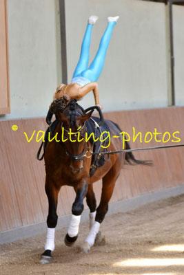 Holzgerlingen II; LV: Baden-Württemberg; Pferd:Bacardi; Longe: Lisa Renz