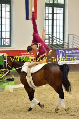 Luisa Horn/Gwendolyn Gröller; LV: Bayern; Longe: Bettins Groß; Pferd: Amantillado