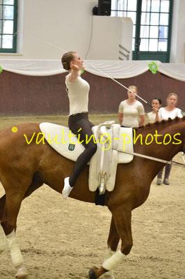VZ Meerbusch I Juniorteam; LV: Rheinland; Pferd: Dainty Dancer; Longe: Sophie Haselhoff