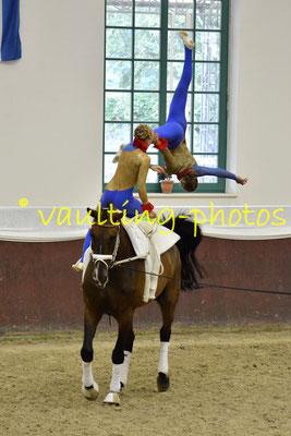 Jonna Hohbach/Jule Schmolke; LV: Rheinland; Longe: Alexandra Knauf; Pferd: Weltoni RS von der Wintermühle