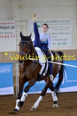 Böhlitz-Ehrenberg; Pferd: Carlos; Longe: Jana Dorn