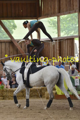 Epona II; LV: Rheinland; Pferd: Drachenherz; Longe: Tim Dersch