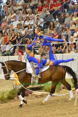 Gilching I; LV: Bayern; Pferd: Amontillado 9; Longe: Bettina Groß