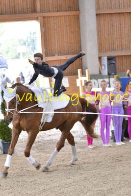 Blankenfelder RV I; Pferd: Goethe; Longe: Vera Drechsel
