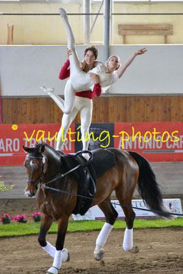 Ronja Kähler/Julian Kögl (GER); Pferd: Daytona; Longe: Lars Hansen