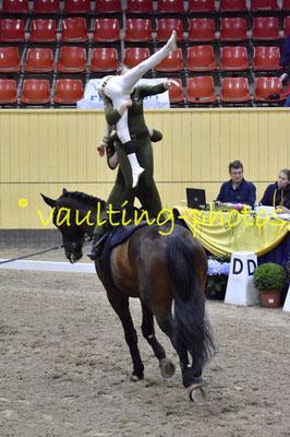 BIS I (DEN); Pferd: Turbo af Kloster; Longe: Maria Louise Rasmussen