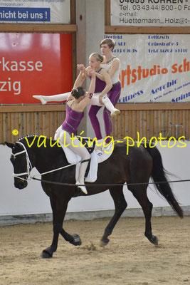 St.Laurentius Zerbst; Pferd: Darwin; Longe: Henriette Finger