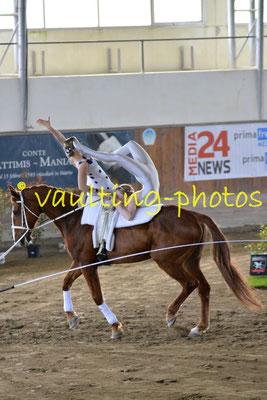 Maria Natter/ Lisa Hammerle (AUT); Pferd: Zanzibar; Longe: Katharina Bosch