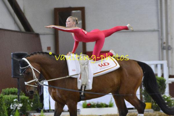 VV Ingelsberg Junior I; LV: Bayern; Pferd: Holt`s Romeo; Longe: Alexander Hartl