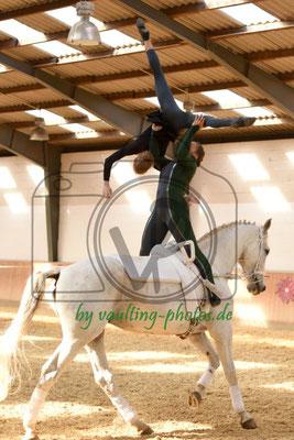 Juniorteam Hoisbüttel; Pferd: Anderson; Longe: Ruth Jückstock
