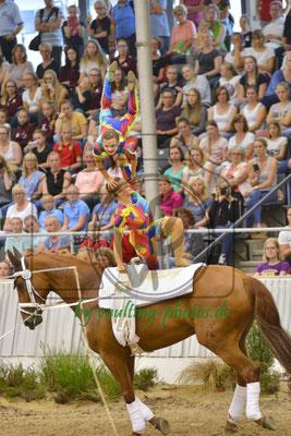 RSV Neuss-Grimlinghausen I; LV: Rheinland; Pferd: Delia FRH; Longe: Elisabeth Simon
