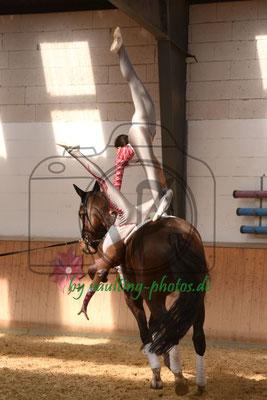Reibitz II; Pferd: Quinten; Longe: Martina Geißler
