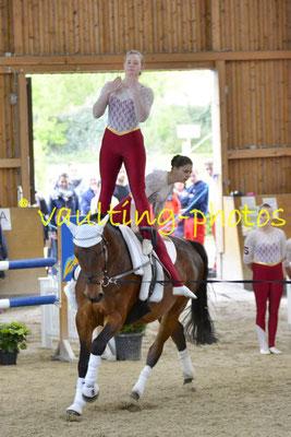 Schenkenberg III; Pferd: Chakira; Longe: Melanie Peglow