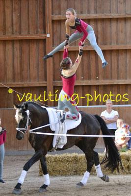 Hoisbüttel III; LV: Schleswig-Holstein; Pferd: KCM Vaultinghorses Desperado; Longe: Ines Jückstock