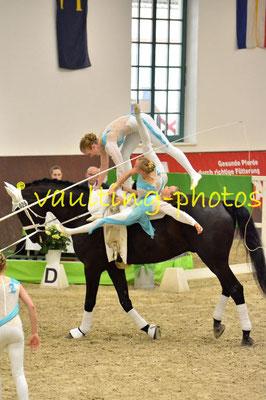 HH-Wentorfer RV Junior I; LV: Hamburg; Pferd: Alpha 89; Longe: Justina Hildebrandt