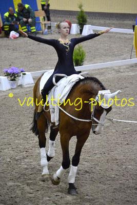 Frillesas lag I (SWE); Pferd: Chevere; Longe: Inger Lindberg