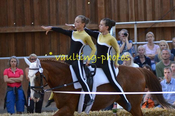 SSZ Liebertwolkwitz II; LV: Sachsen; Pferd: Nina; Longe: Franziska Kugeler-Meyer