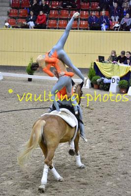 National Team Netherlands (NED); Pferd: Warnix; Longe: Daisy de Groot