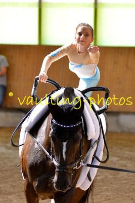 Reibitz Junior; Longe: Martina Geißler; Pferd: Ronan
