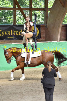 Markus Cohaus/ Lena Feldhues (GER); Pferd: Wizzard; Longe: Kerstin Bock