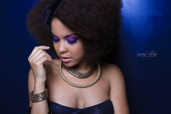 Model: Dreysi / Haare: Veronica / Fotograf: Janine Küffer Photography / MuA: JustB Makeup by Ute Burkhardt