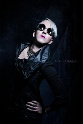 Model: Nahual / Foto: Lumina Obscura Photography / MuA/Hair: JustB Makeup by Ute Burkhardt