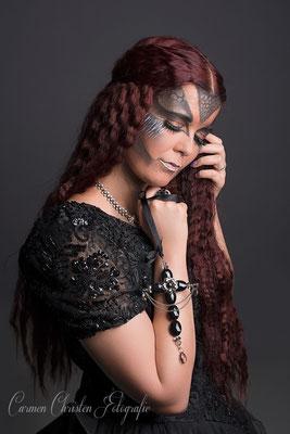 Model: Mel Kissa / Foto: Carmen Christen Photography / MuA/Hair: JustB Makeup by Ute Burkhardt