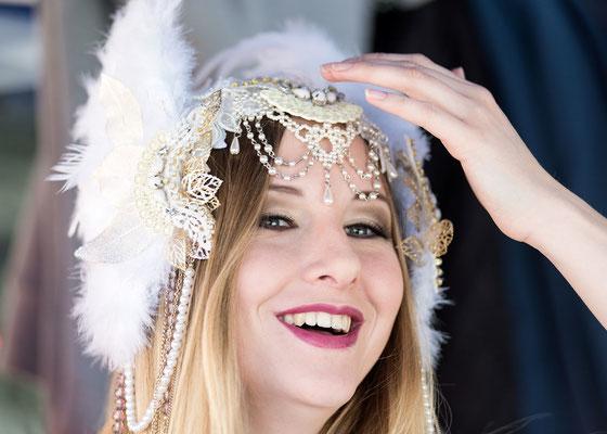 Model: Melanie / Foto: Linda Scapin / Hair & MuA: JustB Makeup by Ute Burkhardt