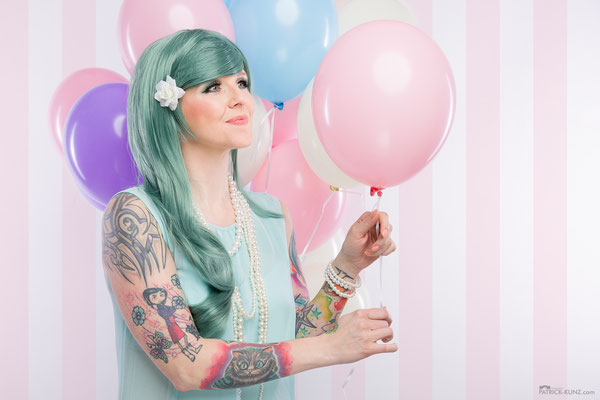 Model: Steffi / Foto: Patrick Kunz Photography / MuA/Hair: JustB Makeup by Ute Burkhardt