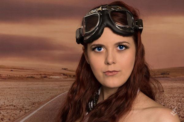 Model: Mel Kissa / Foto: Chlu-PhotoArt / MuA/Hair: JustB Makeup by Ute Burkhardt