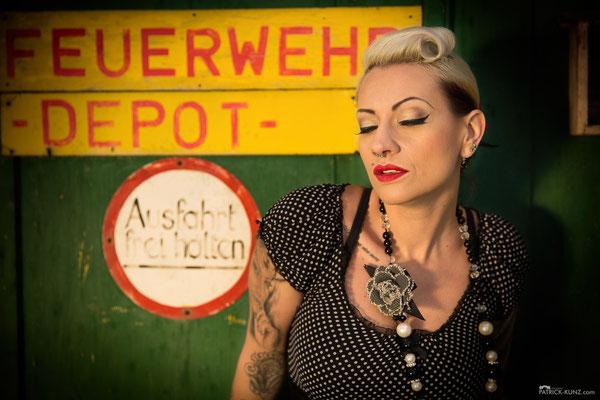 Model: Simone van der Loo / Foto: Patrick Kunz Photography / MuA/Hair: JustB Makeup by Ute Burkhardt