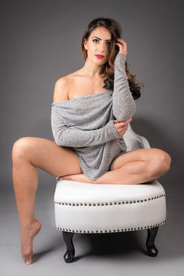 Model: Fabienne / Foto: Blender Studios / MuA: JustB Makeup by Ute Burkhardt