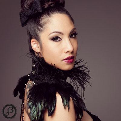 Model: Iris / Haare, Makeup: JustB Makeup by Ute Burkhardt