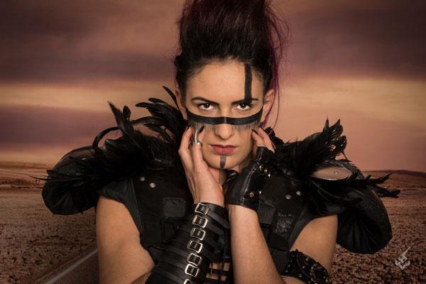 Model: Fabienne / Foto: Chlu-PhotoArt / MuA: JustB Makeup by Ute Burkhardt