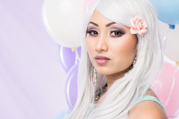 Model: Nana / Foto: Patrick Kunz Photography / MuA/Hair: JustB Makeup by Ute Burkhardt