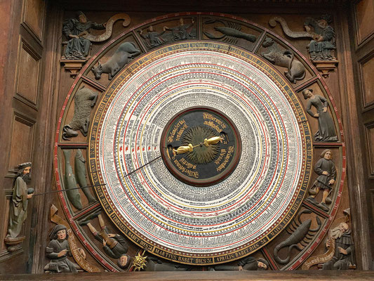 Rostock - Astronomical Clock of St. Mary's church