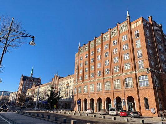 Rostock - Kröpeliner Straße - Typical GDR Architecture