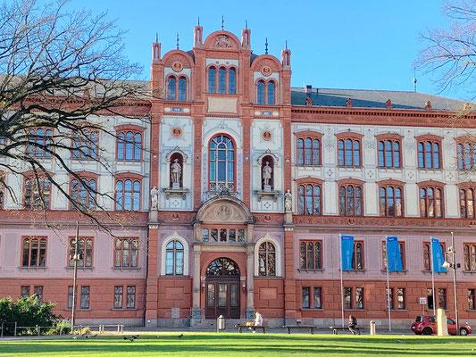 Rostock - University square